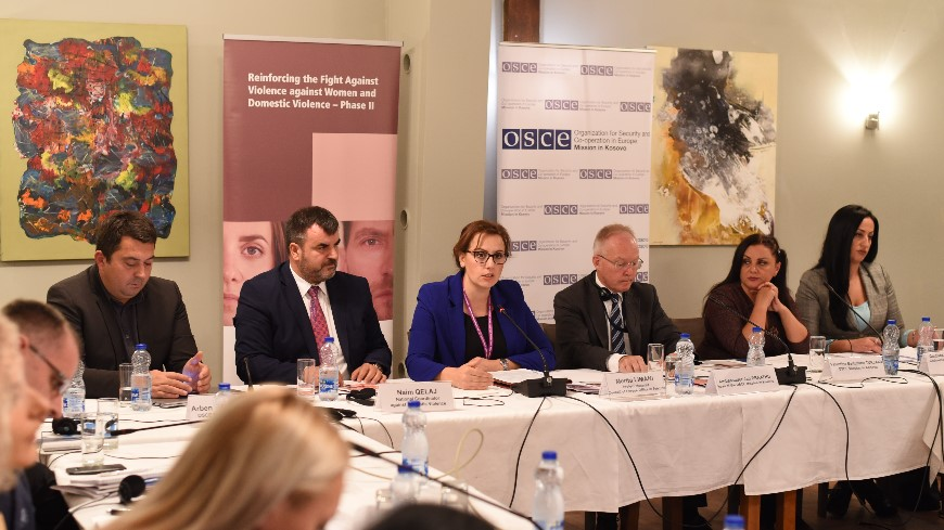 Raising awareness on violence against women and domestic violence: working with media in Kosovo*