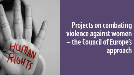 Showcasing projects on combating violence against women