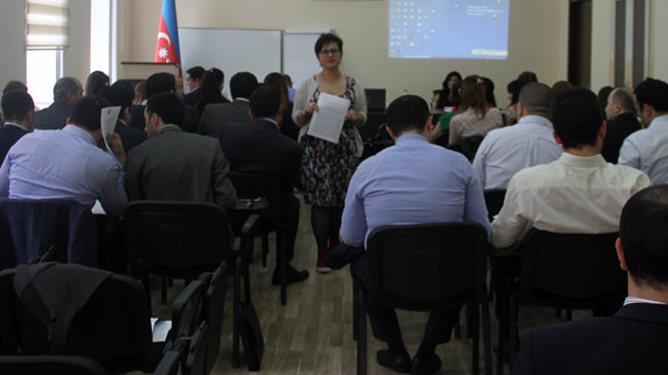 The Justice Academy of Azerbaijan prepares the next generation of judges to incorporate a gender-sensitive approach in their work