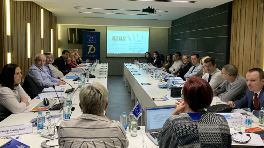 First HELP online course on Violence against women and domestic violence launched in Bosnia and Herzegovina