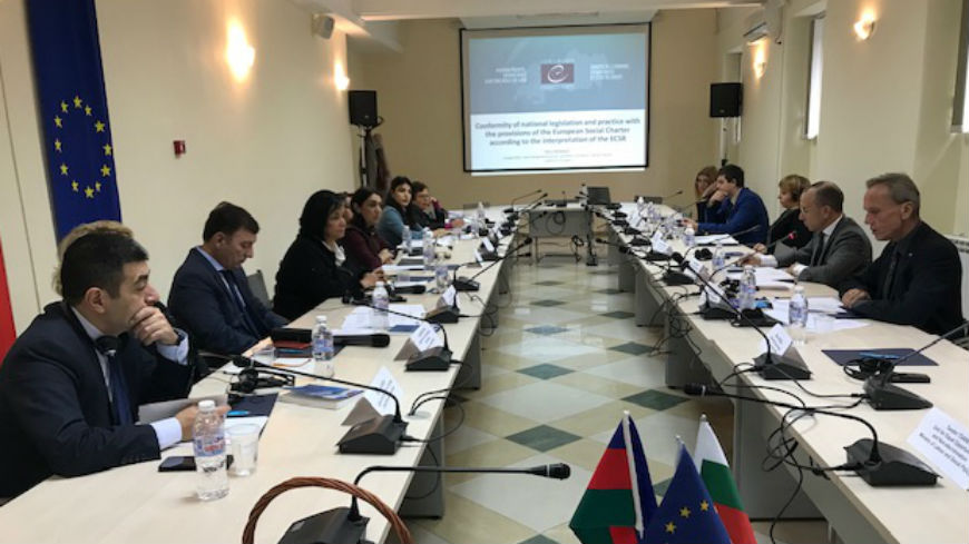 Study visit on the implementation of the European Social Charter for public officials from Azerbaijan