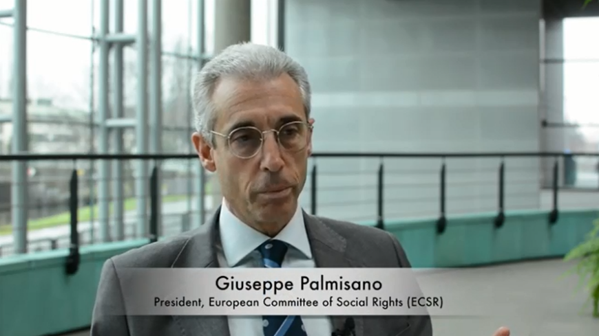 Interview of Giuseppe Palmisano: Conclusions 2017 of the  European Committee of Social Rights