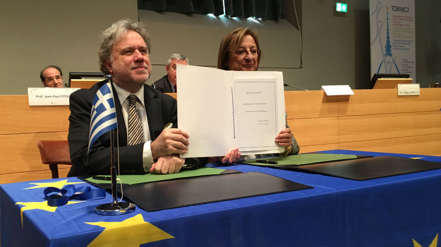 Official deposit of the instrument of ratification of the Revised Social Charter by Greece