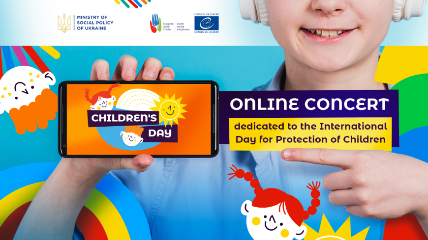 1 June – start of the online marathon dedicated to the International Day for Protection of Children