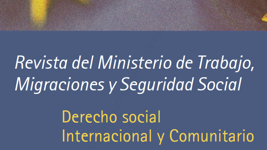 8f202c99174 The European Social Charter in the Journal of the Spanish Ministry of  Labour