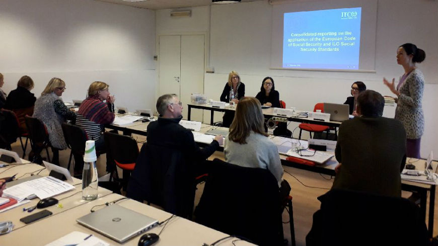 Training on the application of the European Code of Social Security and ILO Social Security Standards