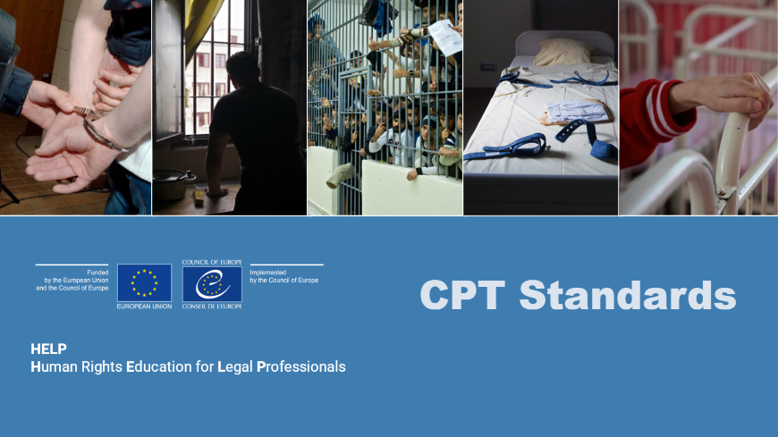 New online course on CPT Standards published on the HELP Platform