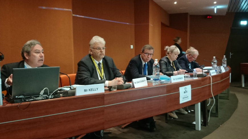 """Eradicating torture in Europe"": Council of Europe anti-torture Committee holds exchange of views with members of the Parliamentary Assembly"