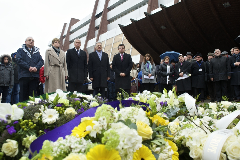 Commemoration of the 70th anniversary of the liberation of Auschwitz-Birkenau