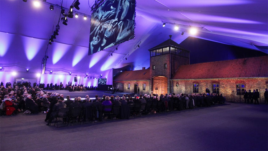 Council of Europe represented by Deputy Secretary General at 75th anniversary of the liberation of German Nazi concentration and extermination camp Auschwitz-Birkenau