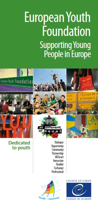 European Youth Foundation leaflet