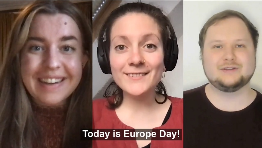 The Advisory Council on Youth's message on Europe Day!