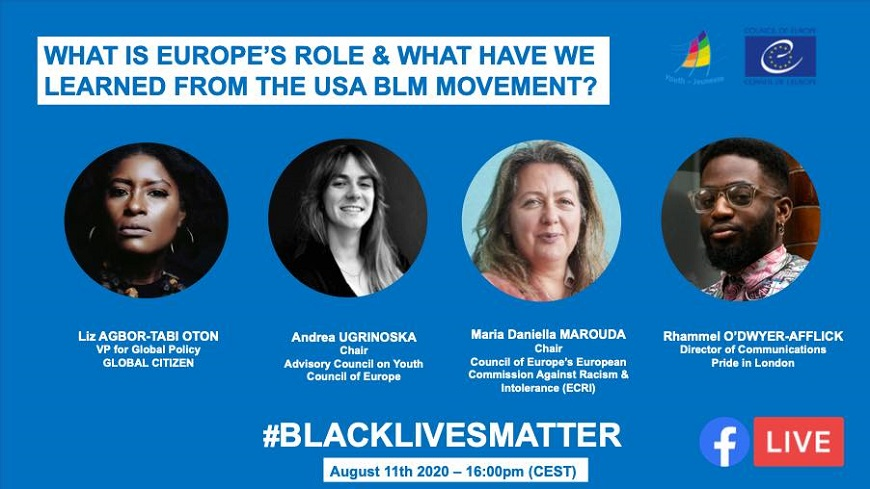 The Black Lives Matter movement – What can young people in Europe do ?