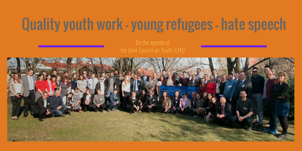 Quality youth work – young refugees – hate speech