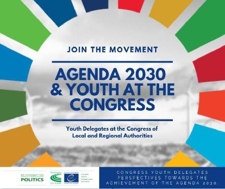 The Advisory Council on Youth supports the Congress Youth Delegates