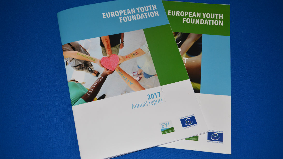 European Youth Foundation annual report 2017 just published!