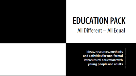 "User survey: Education Pack ""All different - All equal"""
