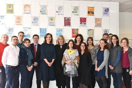 Commissioner for Human Rights Dunja Mijatović visits the EYCB