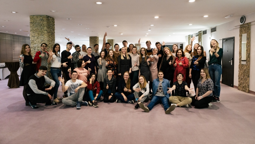 Long-term training course for youth trainers from the Russian Federation