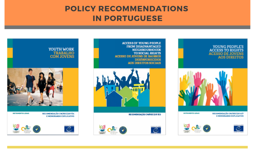 3 Policy recommendations published in Portuguese