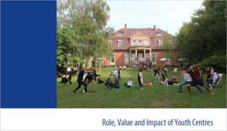 New Publication:  Quality Label for Youth Centres – Role, Value and Impact Brochure
