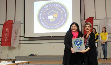 Marttinen Youth Centre in Finland awarded with the Council of Europe Quality Label for Youth Centres