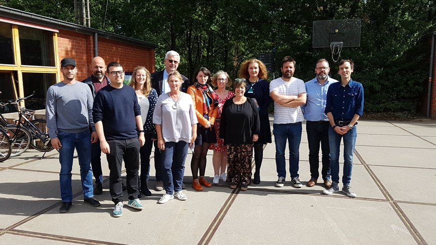 Exploratory visit of the Quality Label Expert Team to de Hoge Rielen Youth Centre, Kasterlee, Belgium