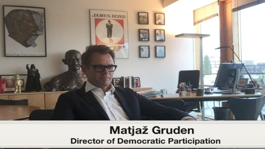 Think Youth interview with Matjaž Gruden, Director of Democratic Participation