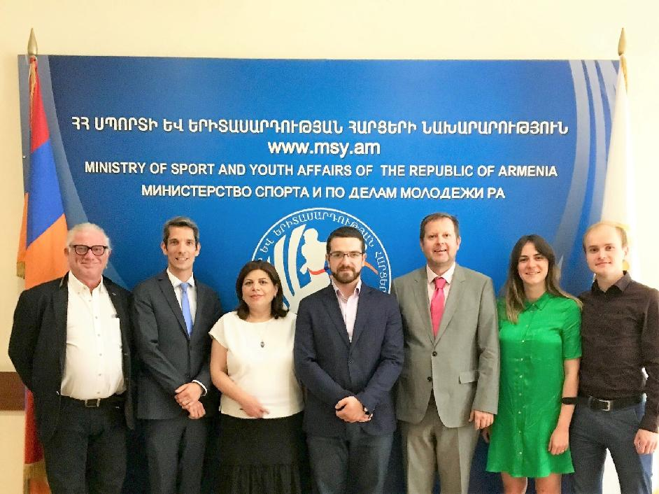 Youth policy advisory mission to Armenia