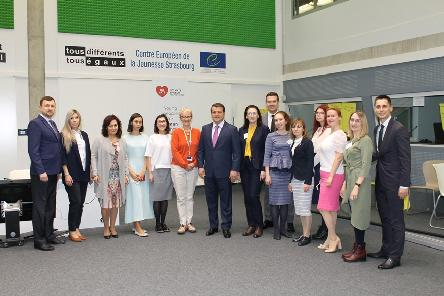 Mayor of Kazan visits the European Youth Centre