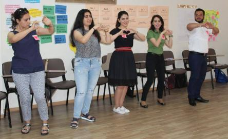 National Forum on Human Rights and Citizenship Education with Young People in Azerbaijan