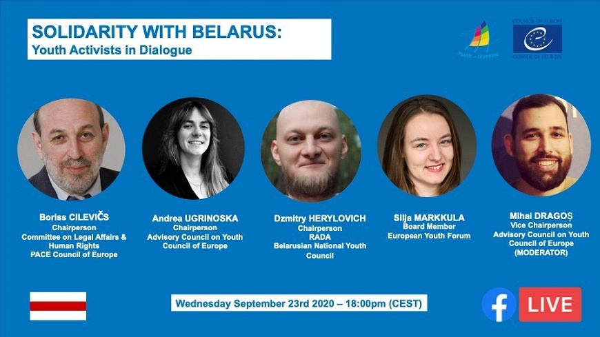 Solidarity with Belarus - youth activists in dialogue