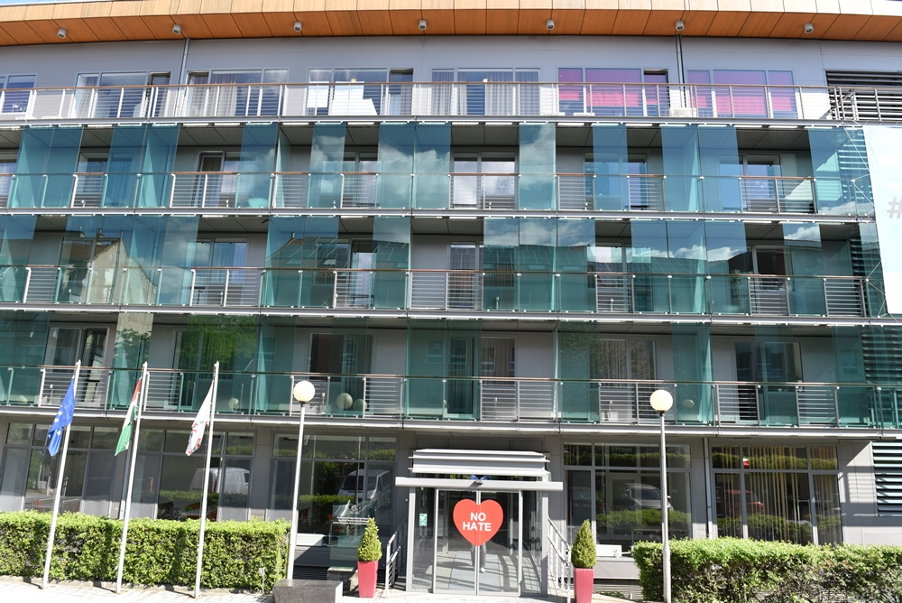 01 - Front facade of EYC Budapest