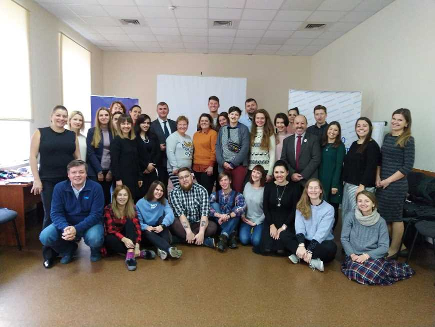 Compass Long-term training for trainers in Ukraine
