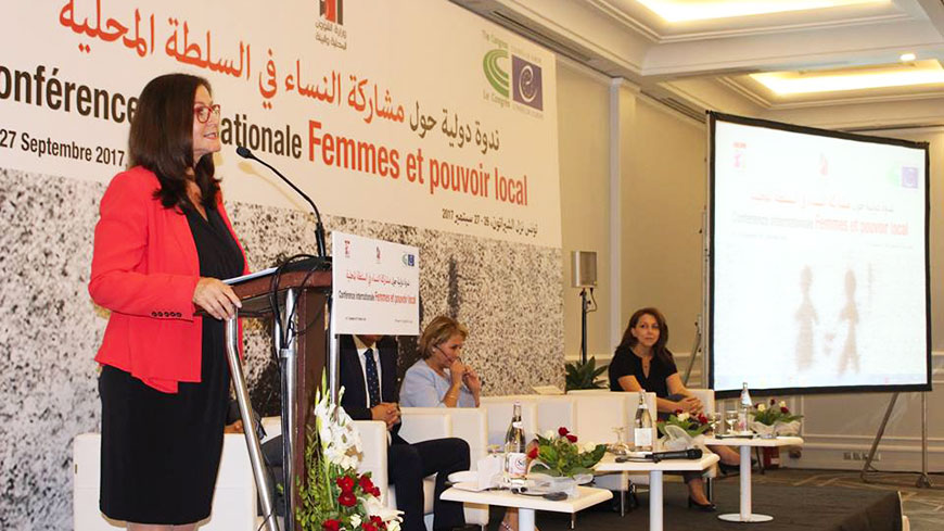"Gudrun Mosler-Törnström : ""The historic changes in Tunisia offer great opportunities for democratic transformation and women's participation"""
