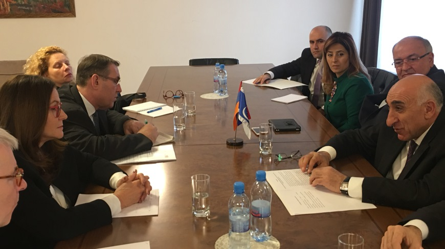 Gudrun MOSLER-TÖRNSTRÖM expresses support to Armenian authorities in their commitment to strengthening local autonomy