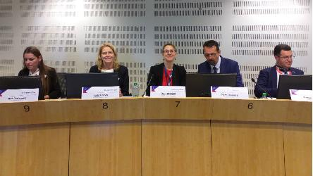 Congress co-rapporteur addresses Committee on Serbia in Brussels