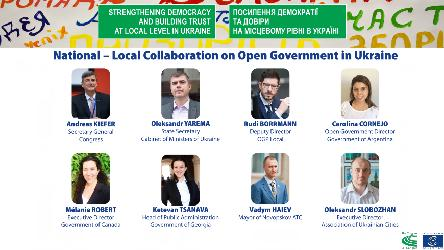National – Local Collaboration on Open Government in Ukraine
