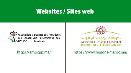 Launch of two websites to support Moroccan associations of territorial authorities