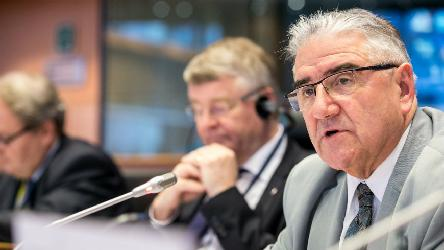 "Jean-Claude Frécon tells the EU Committee of the Regions: ""let's step up our co-operation"""