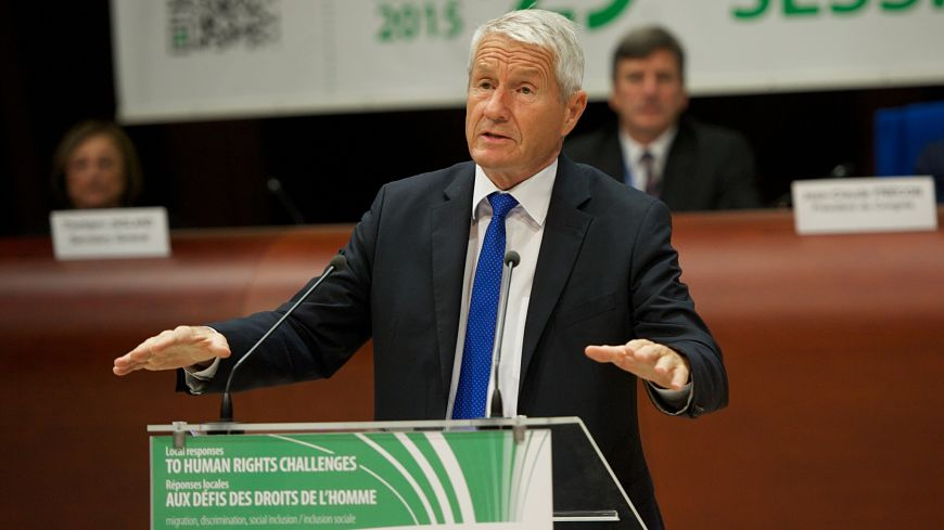 "Thorbjørn Jagland: ""The refugee crisis is an opportunity to change things, provided we are well organised"""