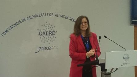 "Gudrun Mosler-Törnström: ""Committing to a stronger cooperation with CALRE and with Presidents of Regional Parliaments"""