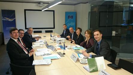 Andreas Kiefer meets with representatives of European Associations of Local Authorities