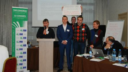 Regional seminar in Odessa : promoting local democracy with Ukrainian youth