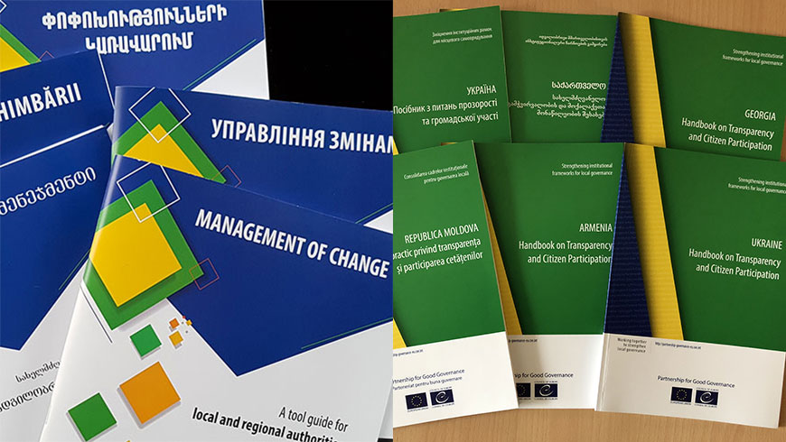Co-operation: two publications to support local and regional authorities in Europe