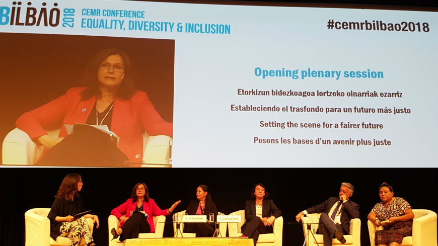"Congress President at CEMR Conference: ""We need more equality, diversity and cohesion to face the current challenges"""