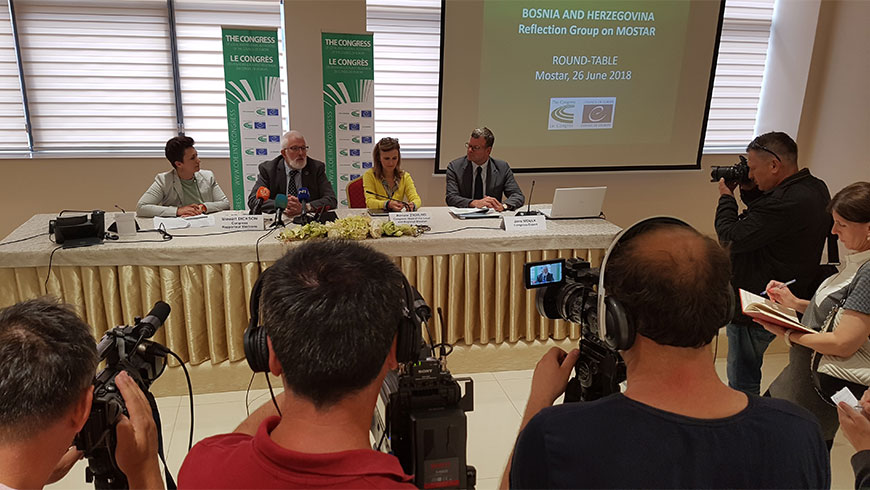 Congress Reflection Group calls for a compromise between political stakeholders to hold local elections in Mostar as early as possible