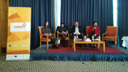 """The local level is the most appropriate for showcasing political talent, especially for women,"" says Carla Dejonghe in Tunis"