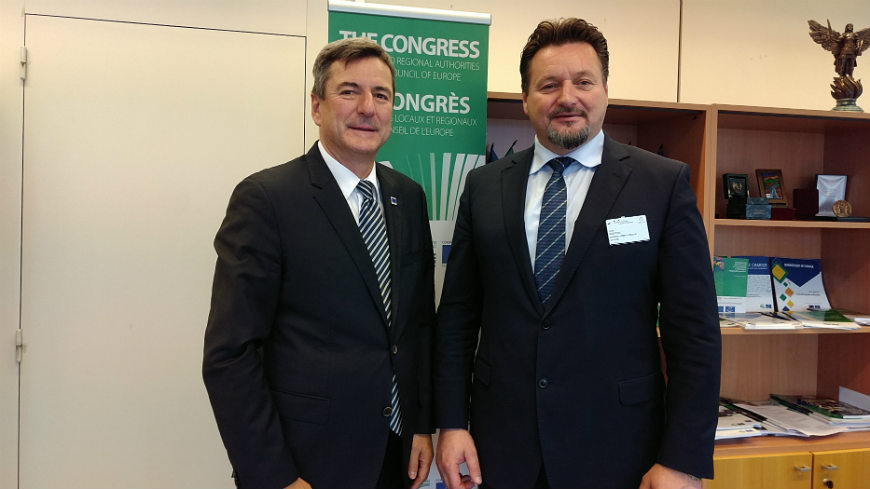 Congress Secretary General meets Croatian Minister of Public Administration