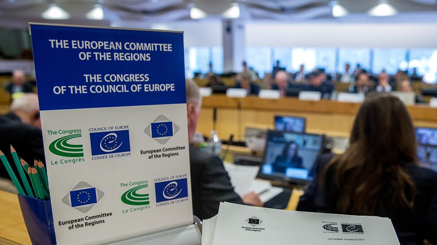 Meeting of the High Level Group between the European Committee of the Regions and the Congress